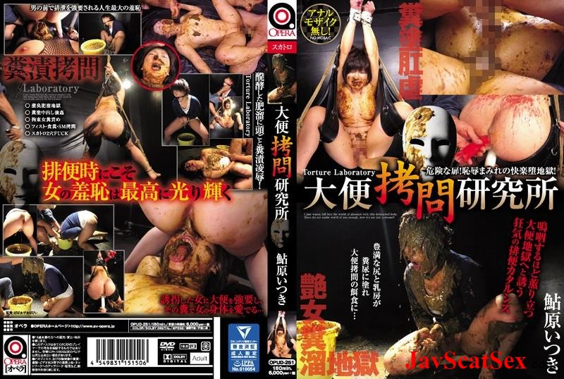 OPUD-251 Forced Torture laboratory hard extreme scatology rape Ayuhara Itsuki. Body covered feces HD 720p (7.51 GB)