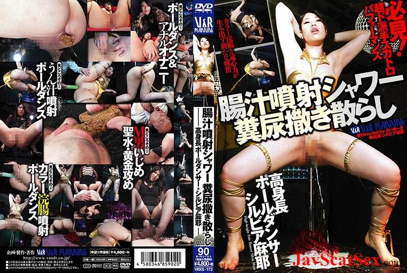 VRXS-172 Piss in mouth Sylvia Maya excretion during perversion dance. Defecation SD (955 MB)