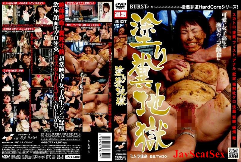NHDT-717 Rape scat 塗り糞地獄 Rape School Girls scat 飲尿 フェチ スカトロ Fetish Bondage vomit SD (2.42 GB)