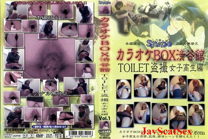 KTD-001 Spy camera Schoolgirls excretion in toilet spycam. Defecation SD (717 MB)