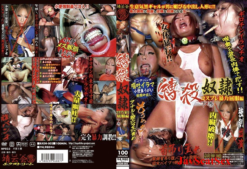 BXDR-002  Violence deep throating vomit tied slave. Puke SD (2.08 GB)