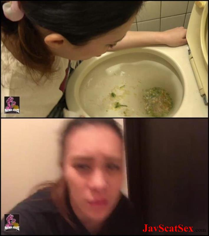 BFJV-25 Puke Toilet vomit トイレ嘔吐 プーキング・ガールズ Puking HD Japanese vomit FullHD 1080p (364 MB)