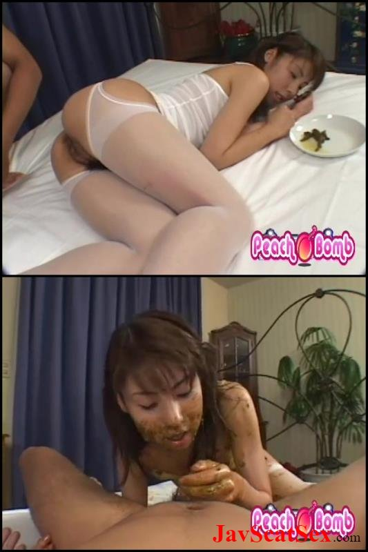BFWS-112 Defecation Shit in Mouth Coprophagy Sex 口コピロフィーのセックスでたわごと Blowjob and Defecation SD (577 MB)