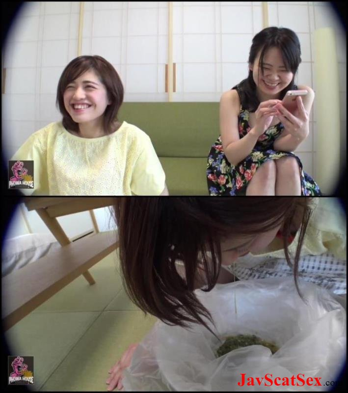 BFJV-12 Japanese vomit Girls Puking Together スローアップ女の子 Forced Vomit HD DLPGFD-041 FullHD 1080p (962 MB)