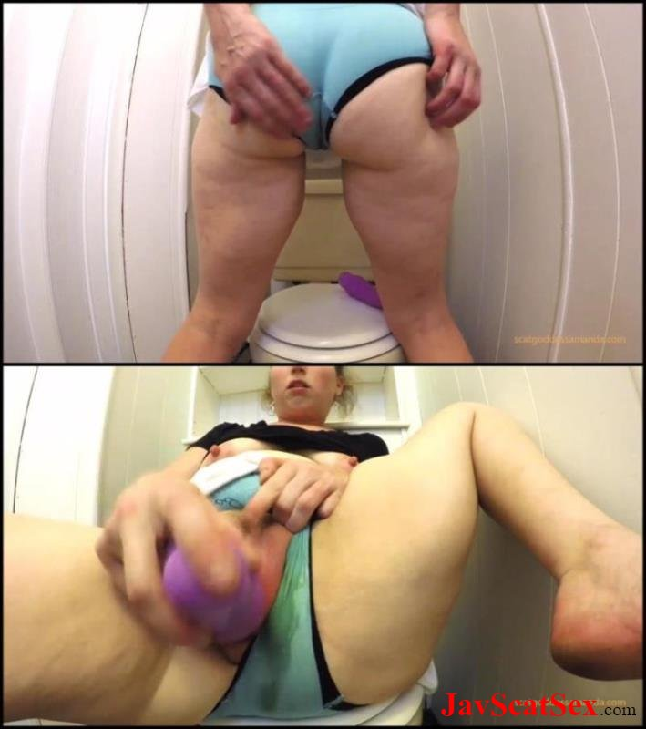 [Special #250] Dirty anal Woman pooping in toilet and masturbation filthy anal. Closeup FullHD 1080p (1.37 GB)