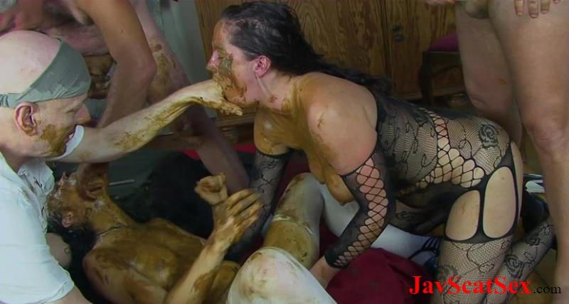 [Special #10] Piss drinking Dirty scat orgy! Scatting HD 720p (1.69 GB)