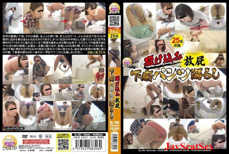 SL-138 DLSL-138 駆け込み放屁 下痢パンツ漏らし Accident in panty HD 720p (1.04 GB)